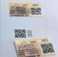 SMP QR Code Label